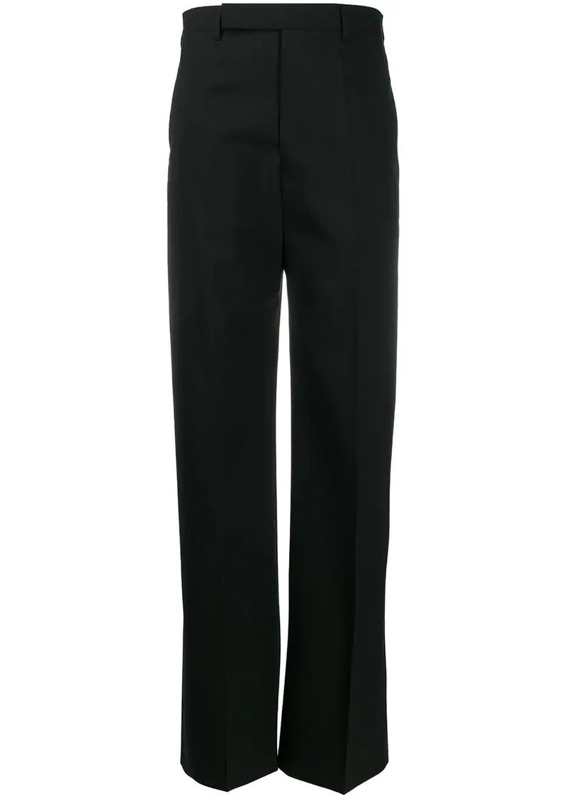 Rick Owens wide-leg tailored trousers