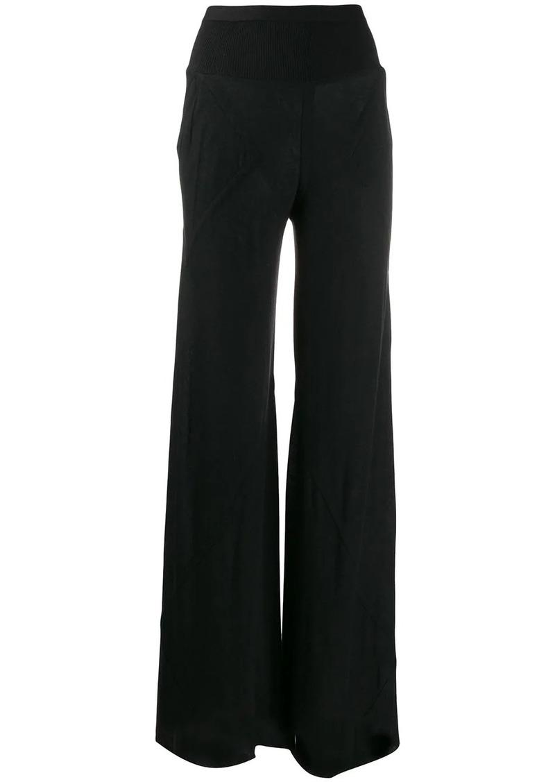 Rick Owens wide leg trousers