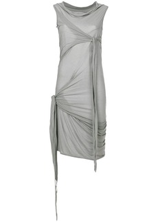 Rick Owens wrap detail dress