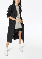 Rick Owens x Champion belted trench coat