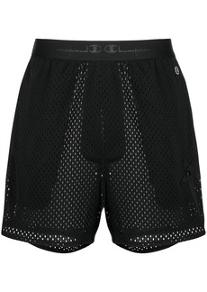Rick Owens x Champion fitted shorts