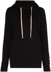 Rick Owens x Champion logo drawstring hoodie