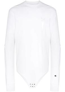 Rick Owens x Champion logo-embroidered cotton-blend sweatshirt