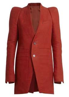 Rick Owens Zionic Cotton & Silk Jacket