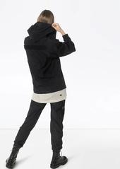 Rick Owens zip-up hooded windbreaker