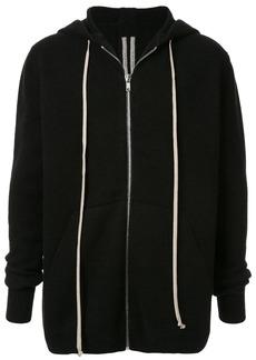 Rick Owens zipped hooded sweatshirt