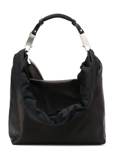 Rick Owens zipped leather tote bag