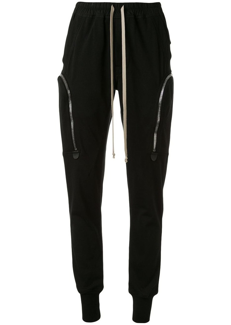 Rick Owens zipped pocket track pants