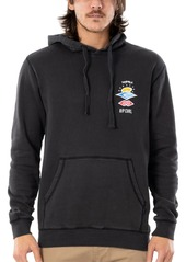 Men's Rip Curl Search Logo Longline Hooded Sweatshirt