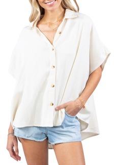 Rip Curl Dune Oversize Button-Up Shirt