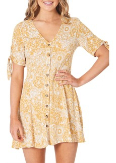 Rip Curl Golden Days Floral Minidress