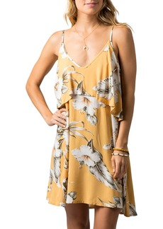 Rip Curl Island Time Floral Popover Sundress