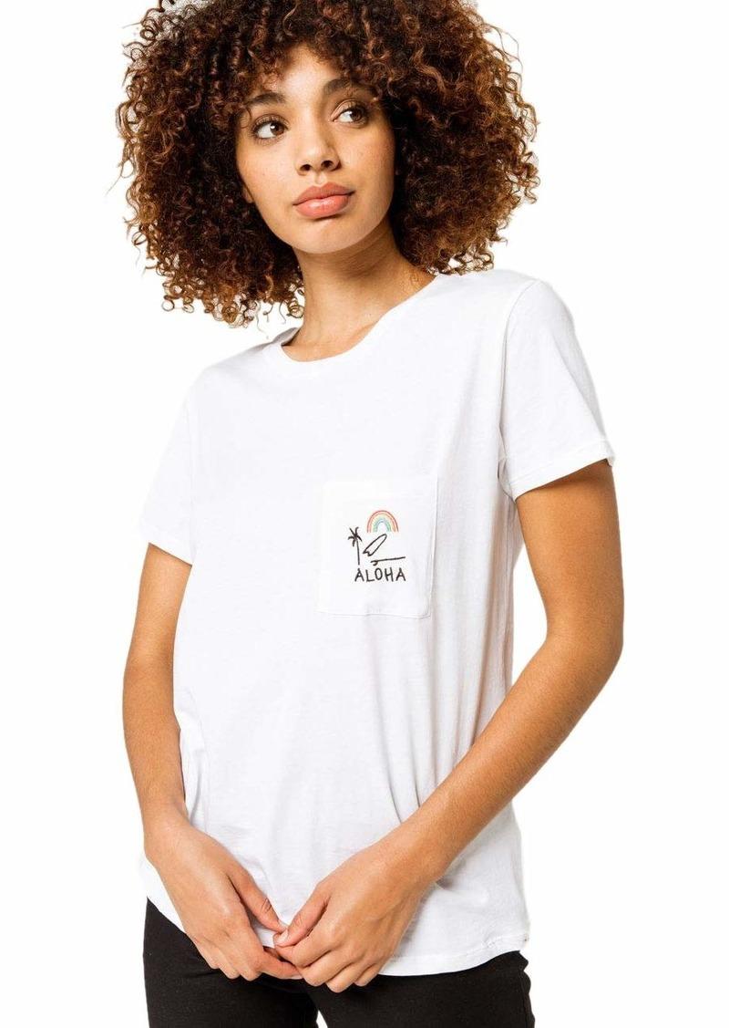 Rip Curl Junior's All Things Aloha Pocket T Shirt  S