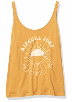 Rip Curl Junior's Chase The Sun Strap Tank TOP  S