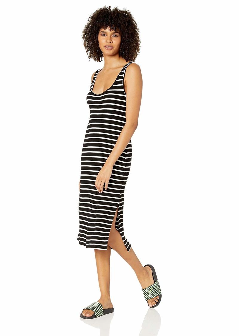 Rip Curl Junior's Essentials Striped Midi Dress  XS