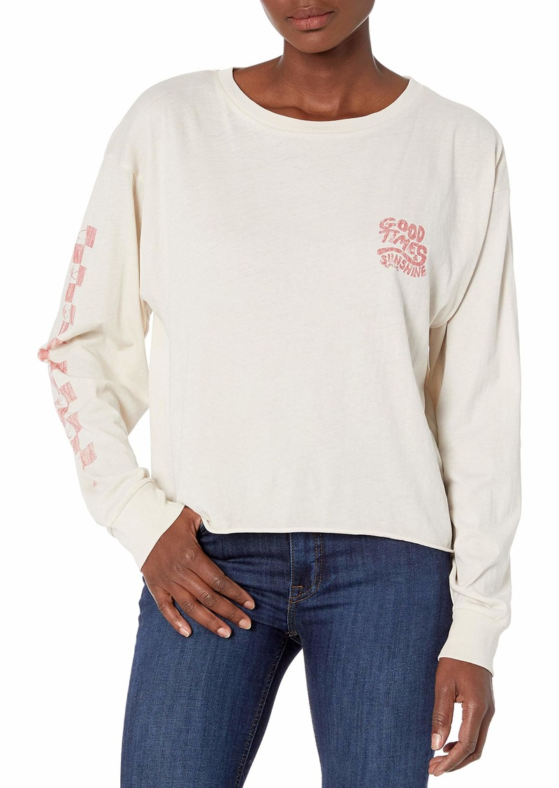Rip Curl Junior's Good Times Long Sleeve T Shirt  XL