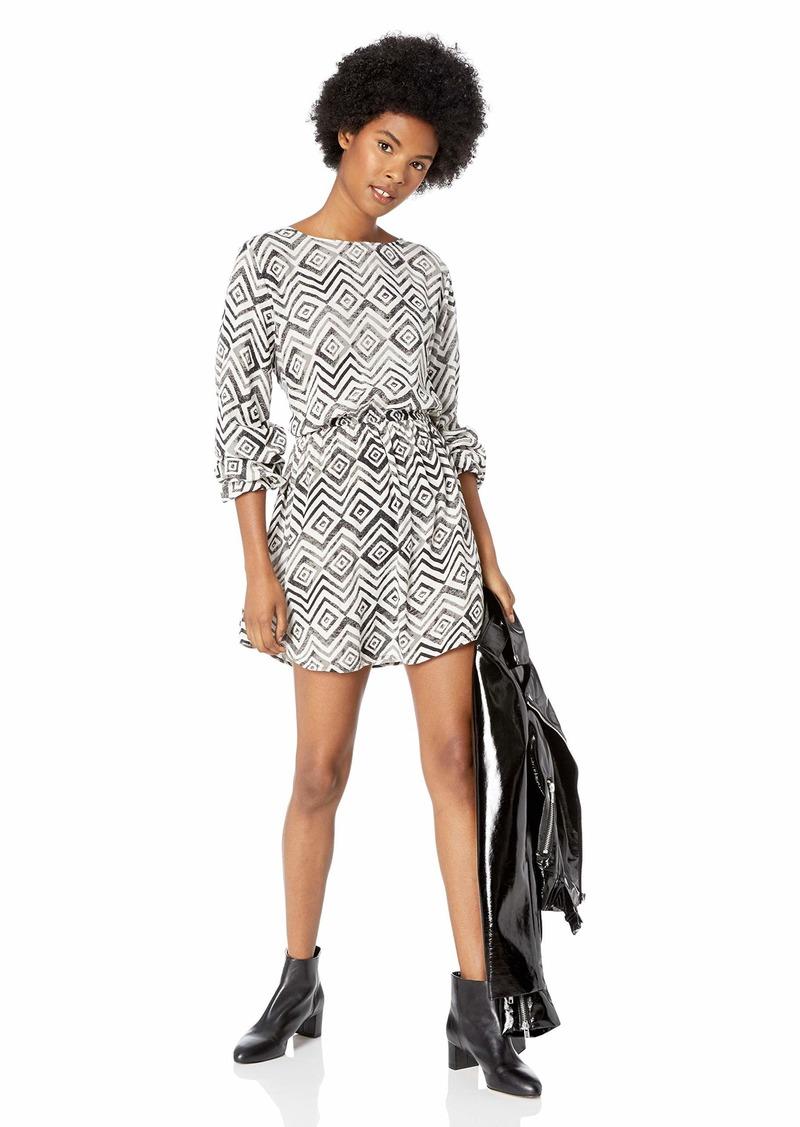 Rip Curl Junior's Kingston Dress Black/White/BLW XS