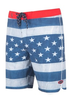 317f3ac575 Rip Curl Rip Curl Men's Freestate Engineered Stripe Star-Print Swim ...
