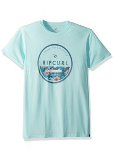 Rip Curl Men's All Time Circle Graphic Tee Shirt  XL