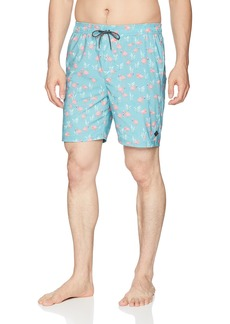 "Rip Curl Men's All Time Elastic Waist 18"" Volley Shorts"
