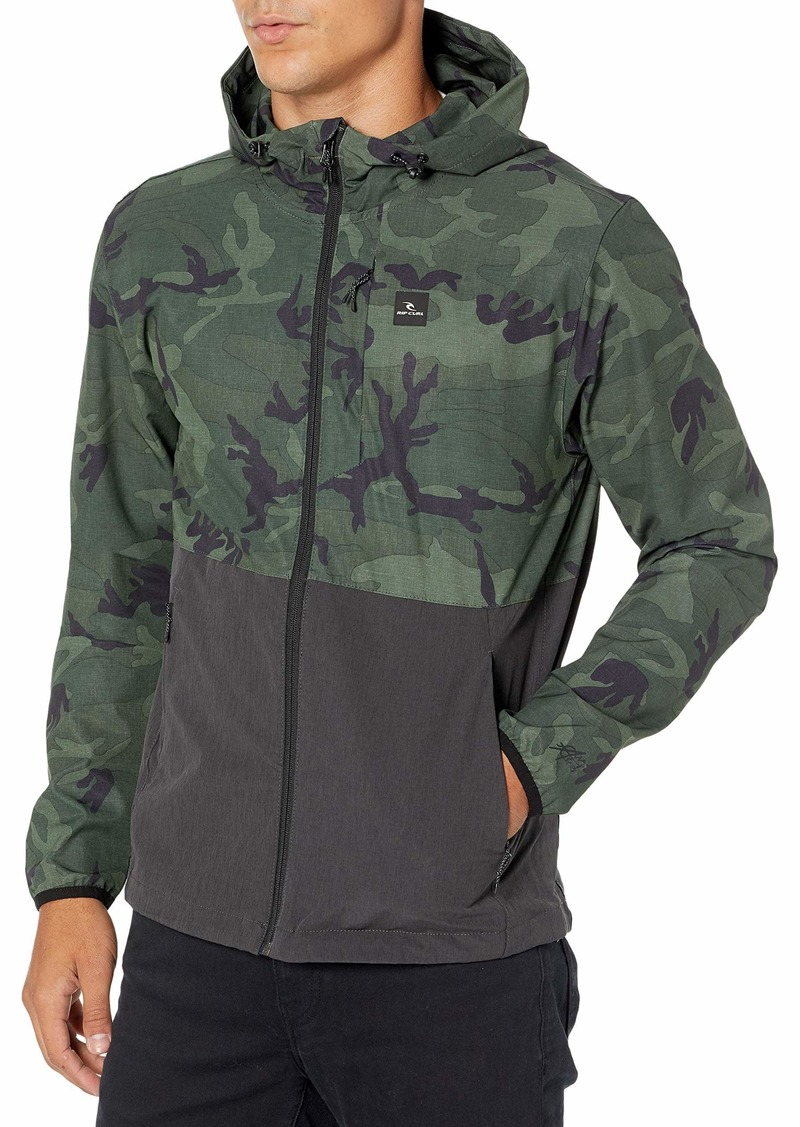 Rip Curl Men's Anti Series Collection Zip Up Jacket  L