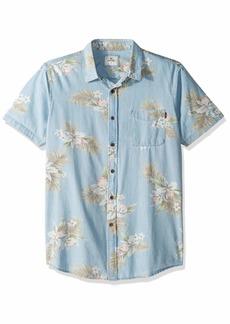 Rip Curl Men's Atoll Short Sleeve Shirt  XL