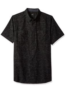 Rip Curl Men's BARNS SS Shirt Black S