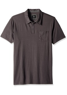 Rip Curl Men's Bishop Polo Charcoal (CHA) XL