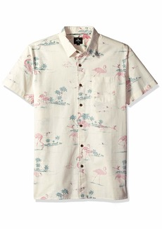 Rip Curl Men's Bocas Ss Shirt Off Off White (OFW) S