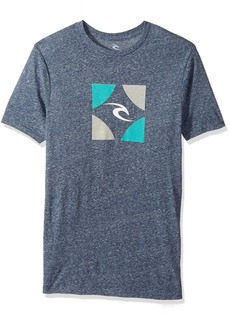 Rip Curl Men's Boxed Tri Blend Tee  2XL