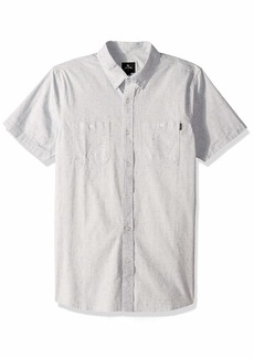 Rip Curl Men's Breaker Short Sleeve Shirt Off  M
