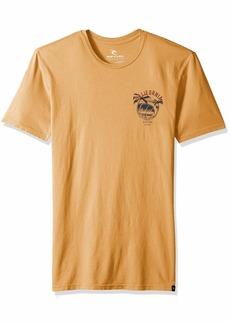 Rip Curl Men's Californication Heritage Tee Gold L