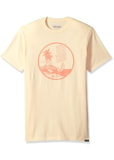 Rip Curl Men's Catamaran Premium Tee Light Yellow (LYW) M