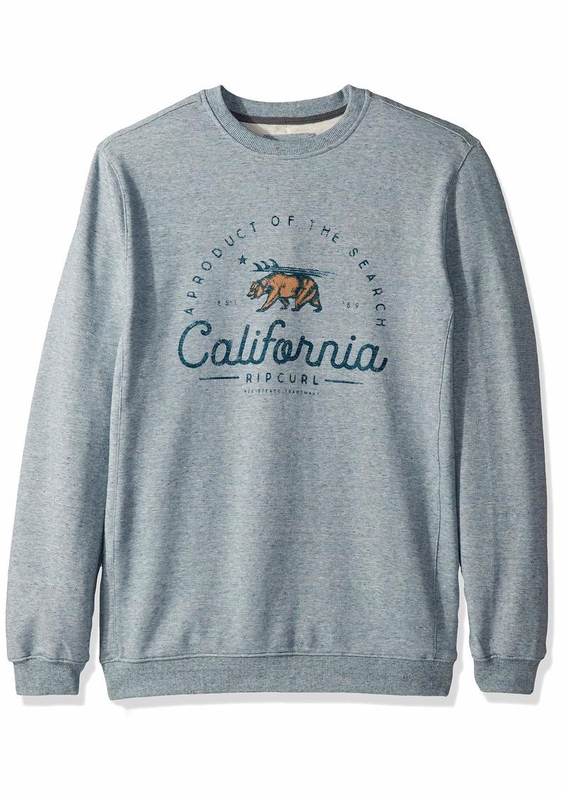 Rip Curl Men's Chest Logo Crew Sweater  L
