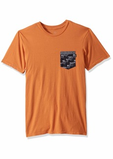 Rip Curl Men's Collective Heritage Pocket TEE Shirt  L