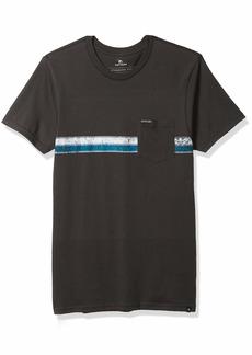 Rip Curl Men's Costa Standard Issue Tee Shirt  M