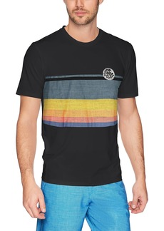Rip Curl Men's Craft Surf Shirt S/s Rashguard Black M