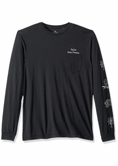 Rip Curl Men's Dark Paradise Heritage Long Sleeve  M