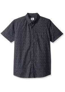Rip Curl Men's Dark Paradise Short Sleeve Shirt  M