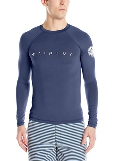 Rip Curl Young Men's Dawn Patrol Uv Tee L/s Rashguard Swimwear  2XL
