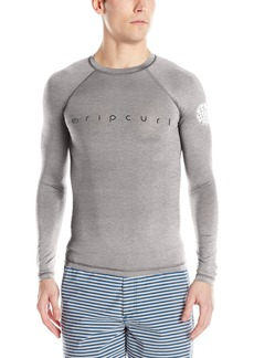 Rip Curl Young Men's Dawn Patrol Uv Tee L/s Rashguard Swimwear  S