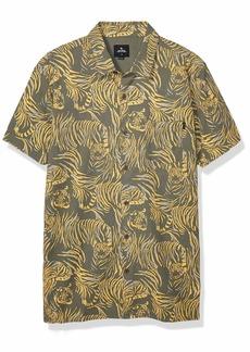 Rip Curl Men's EL Tigre Short Sleeve Shirt  M
