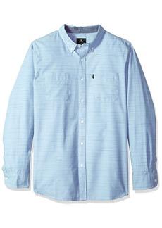 Rip Curl Men's Endy Ls Shirt Blue (BLU) XL