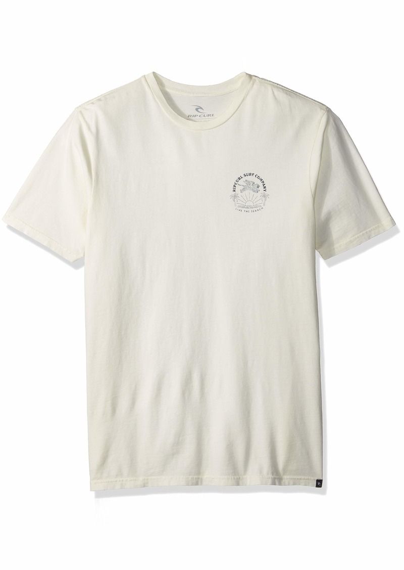 Rip Curl Men's Fade Left Stand Issue Tee White M
