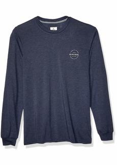 Rip Curl Men's Foundation Vapor Cool Long Sleeve TEE Shirt  S