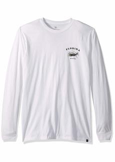 Rip Curl Men's Going Right Premium Long Sleeve T Shirt  L