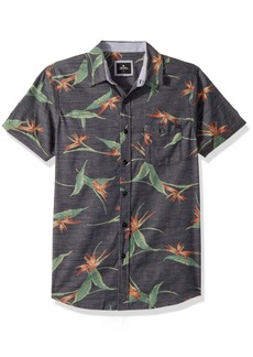 Rip Curl Men's Jungle SS Shirt Black M