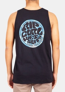 Rip Curl Men's Logo Graphic Tank Top