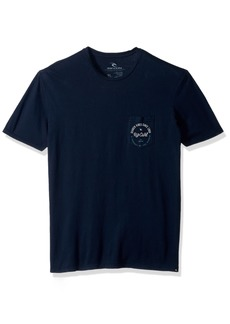 Rip Curl Men's Medal Heritage Pocket Tee Navy M