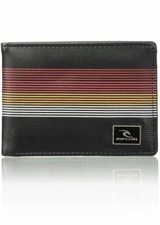 Rip Curl Men's MF PU Slim Wallet red